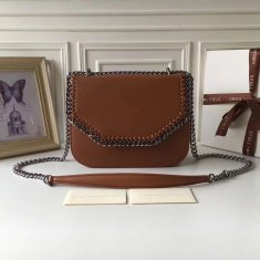 Stella McCartney Fallabella Box Brown Silver