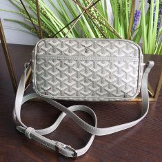 Goyard Sac Capvert Crossbody Bag Light Grey