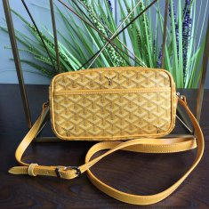 Goyard Sac Capvert Crossbody Bag Yellow