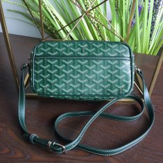 Goyard Sac Capvert Crossbody Bag Green