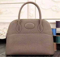 Hermes Bolide 31cm Togo Leather Elephant Grey Bag