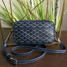 Goyard Sac Capvert Crossbody Bag Navy Blue