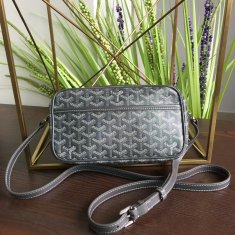 Goyard Sac Capvert Crossbody Bag Dark Grey