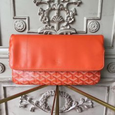 Goyard Saint Marie Clutch Orange