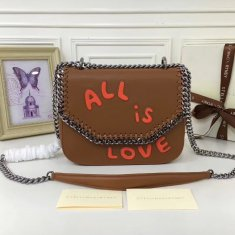 Stella McCartney Fallabella Box All Is Love Brown Silver