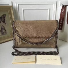 Stella McCartney Falabella Shaggy Deer Mini Bag Metallic Gold