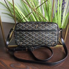 Goyard Sac Capvert Crossbody Bag Black