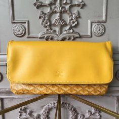 Goyard Saint Marie Clutch Yellow