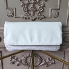 Goyard Saint Marie Clutch White