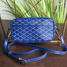 Goyard Sac Capvert Crossbody Bag Royal Blue