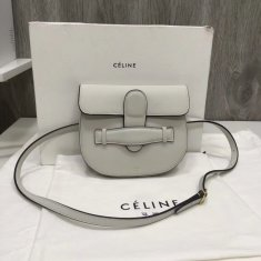 Celine Crossbody Bag Belt Bag White