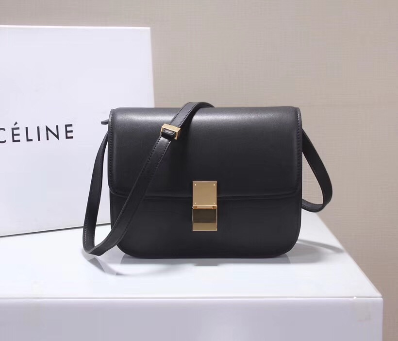 4bf9ab3d3d0c Celine Classic Box Bag 23cm Black  04800-ccb  -  257.50   Wholesale ...