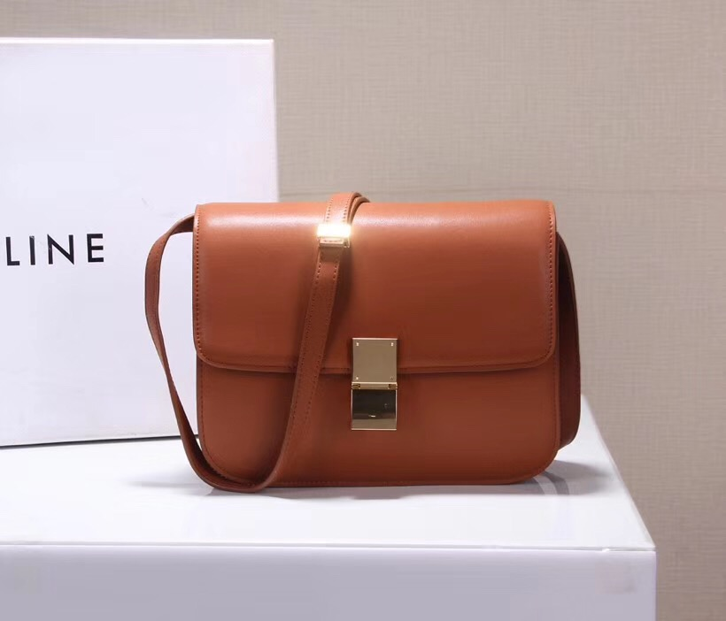 901082377cea Celine Classic Box Bag 23cm Brown  04800-cco  -  255.00   Wholesale ...